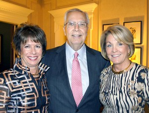 Robin Feder, Gene Toombs and Laurie Haffenreffer