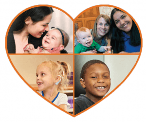 The CID Hearing from the Heart program serves families in the CID school